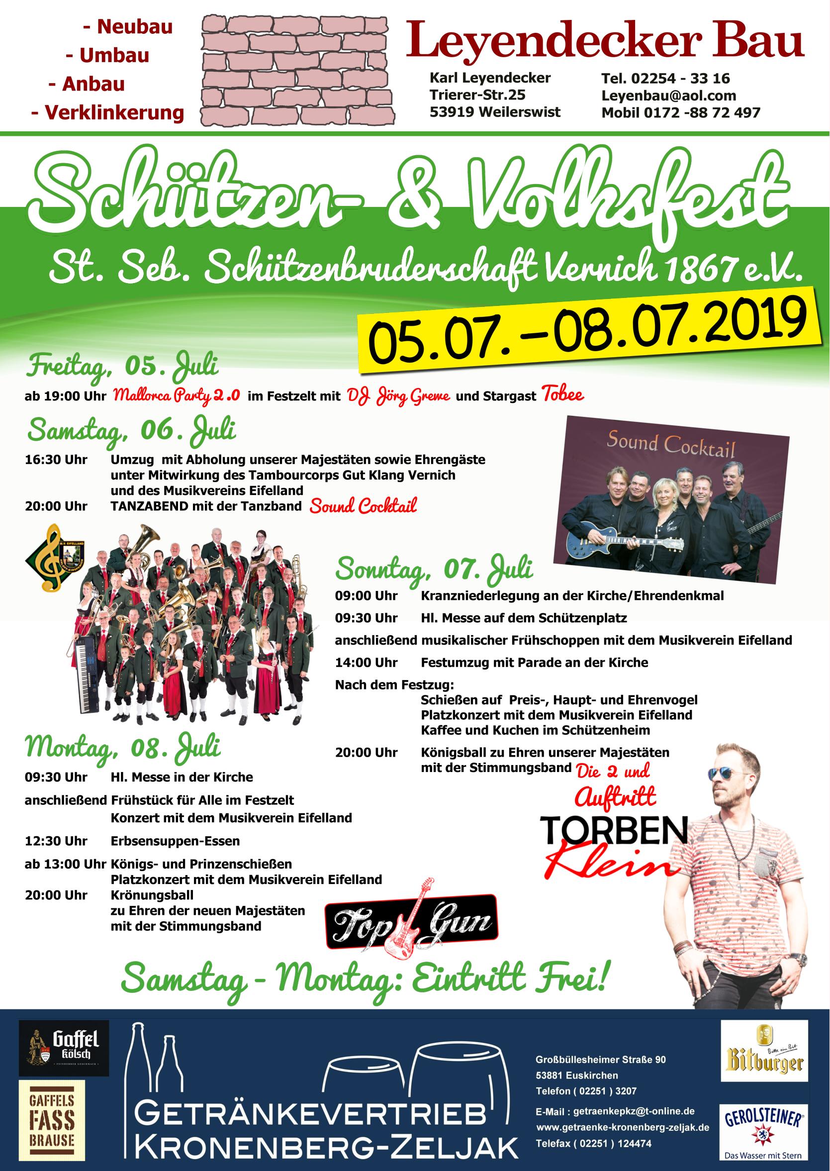 St. Seb. Vernich Schützenfest @ Schützenheim Vernich