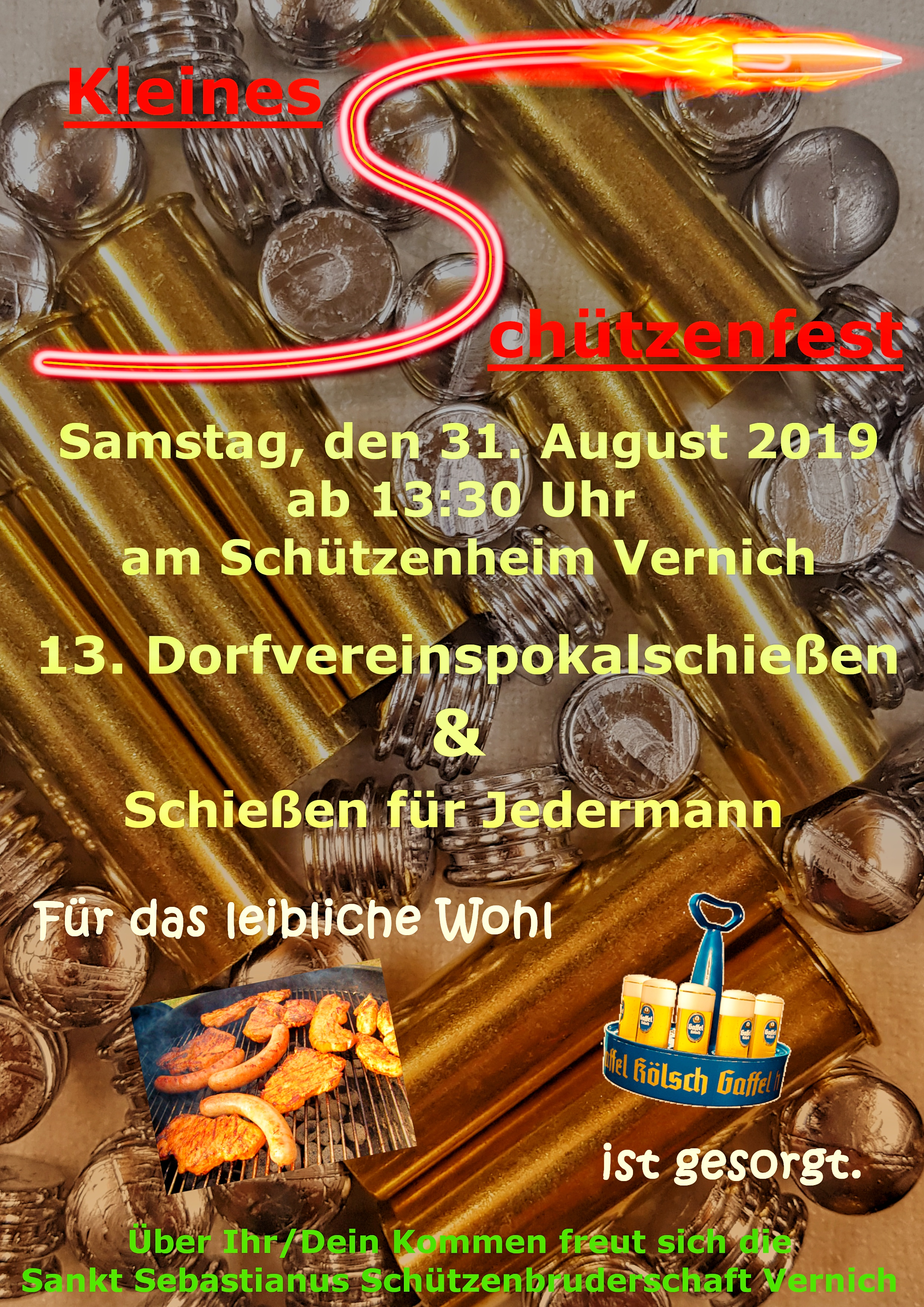 """""""Kleines Schützenfest 2019"""" Schießen für Jedermann"""